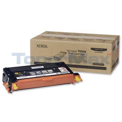 XEROX PHASER 6180 PRINT CARTRIDGE YELLOW 6K